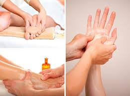 Hands and feet massage picture