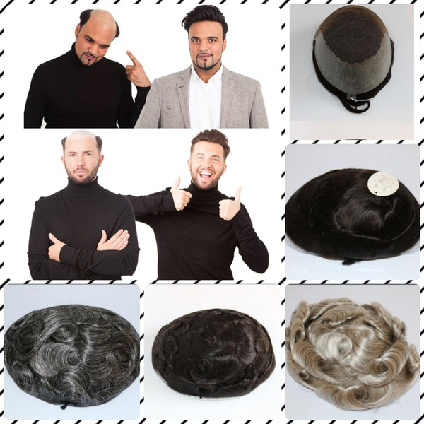 Hair replacement pieces for men (toupees) picture