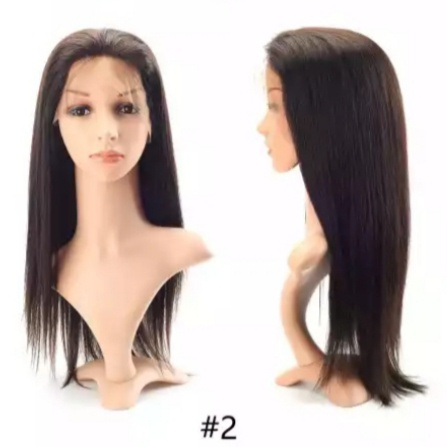 Medical full head silicon injected anti slip toupee wig picture