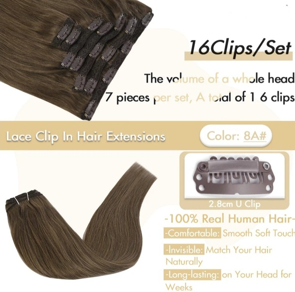 Clip-in hair sets picture
