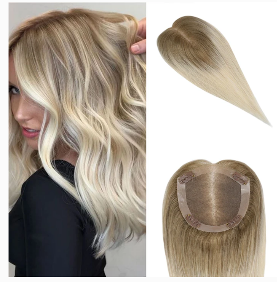 Brown #6 ombre to blonde #613(#t6/613) topper picture