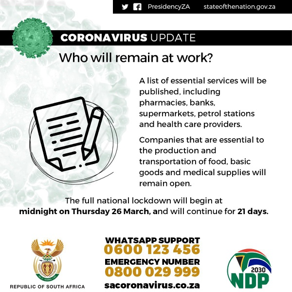 Coronavirus Lockdown - Our Couriers Will Still Deliver picture
