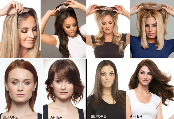 Hair toppers the benefits picture