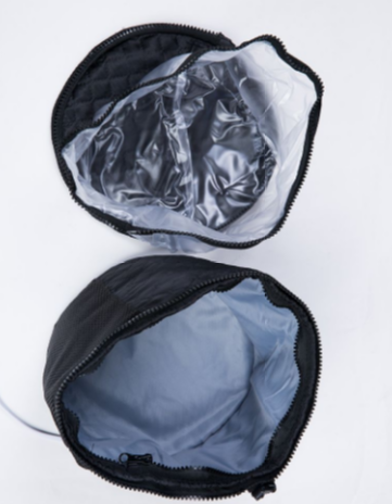 Medium-all-in-one thermal wig carrier case for wigs extensions and hair pieces picture