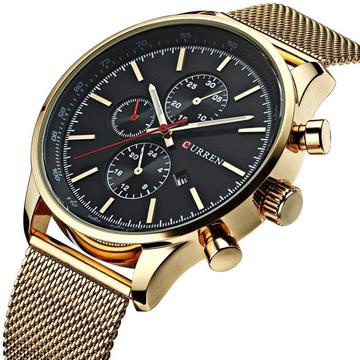 Curren gold watch picture