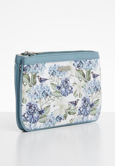 Evosneakz pierre cardin floral bag picture