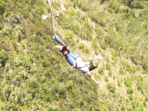 The world's highest bungee jump picture