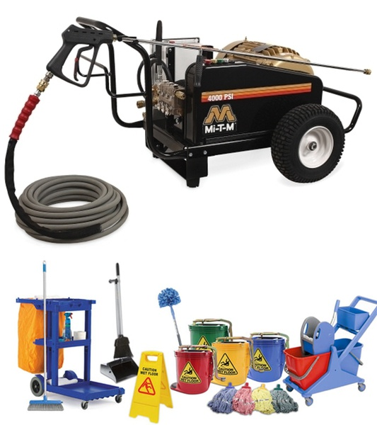 Cleaning equipment & chemicals picture