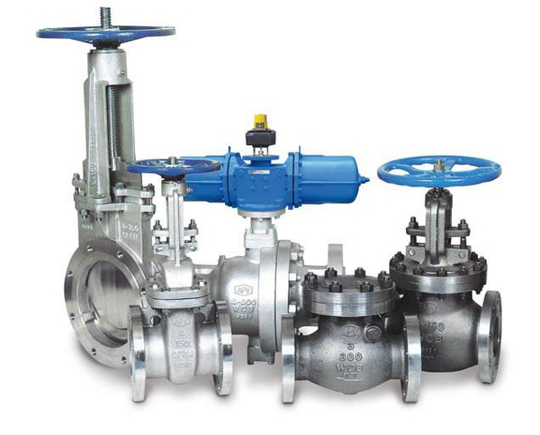 Industrial valves picture