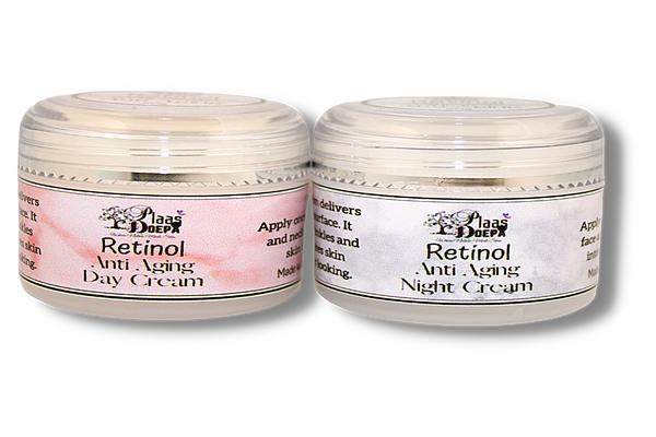 Retinol anti-aging day & night cream picture