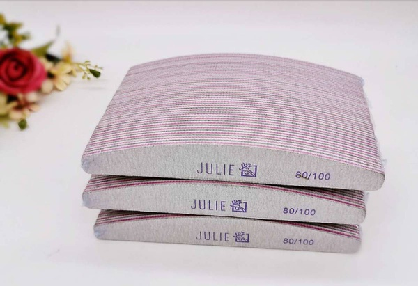 25pc julie angel nail files 80/100 picture