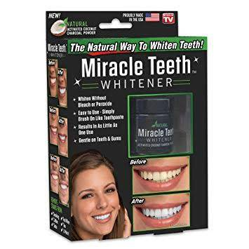 Miracle teeth whitener picture