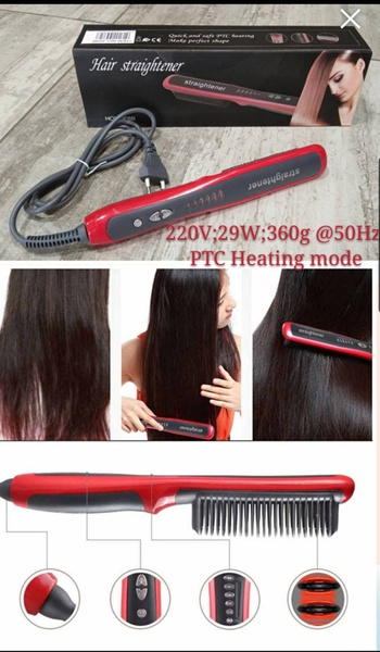 Hair straightning comb picture