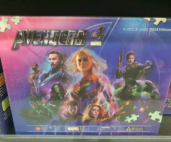 1000pc avengers puzzle picture