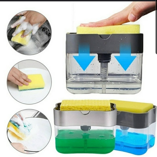 Soap and sponge caddy picture