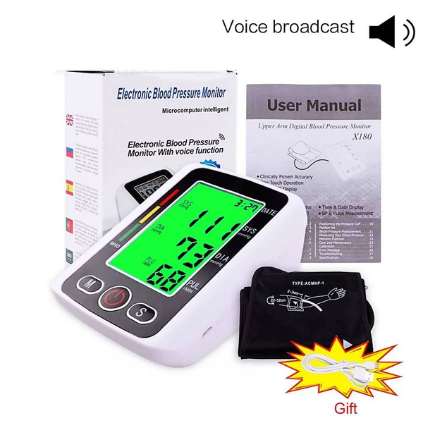 Electronic blood pressure monitor picture