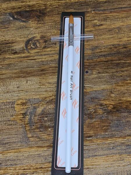 Acrylic brush caini size 8 picture