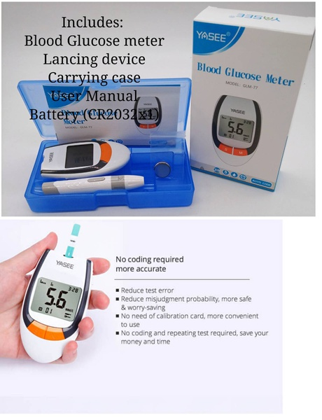 Blood glucose meter picture
