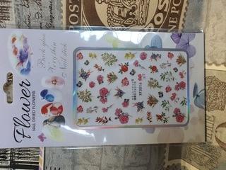 Flower art sheet 9 x 6cm xf3016 picture