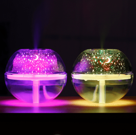 Crystal night light humifider picture