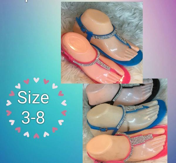 Sandals blue size 38 picture