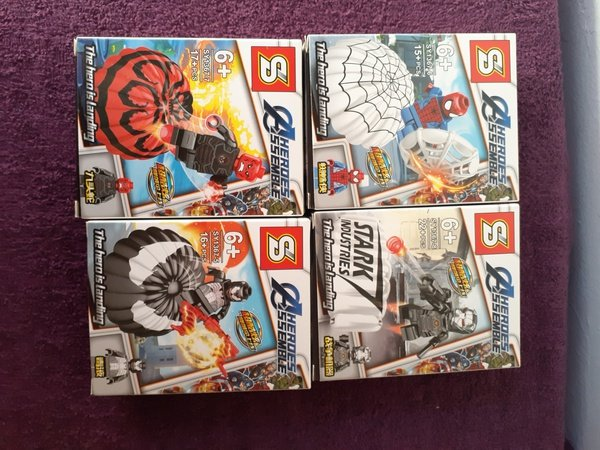 15pc lego man set picture