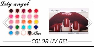 Lily angel 24pc 5ml gel tubs picture