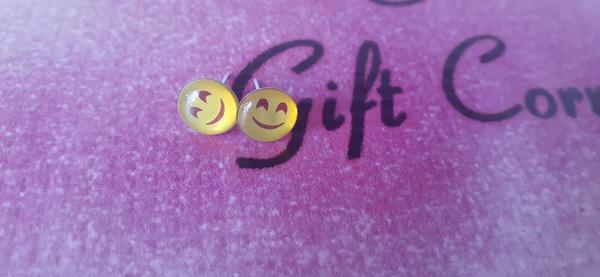 Emoji earings b picture