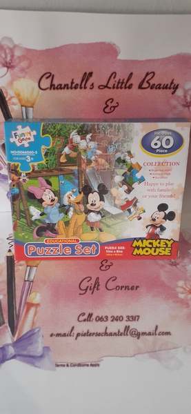 60pc mickey mouse puzzle picture