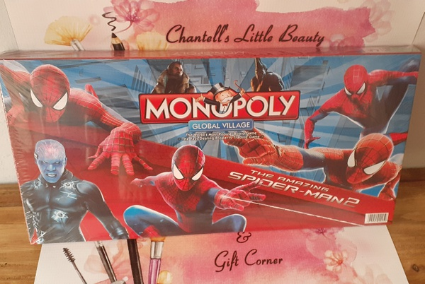 Spiderman monopoly picture