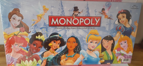 Princess monopoly picture