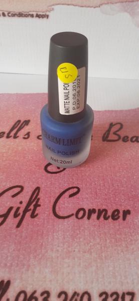 Charm limit matte blue picture