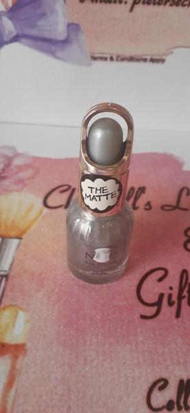 Matte cutex silver picture