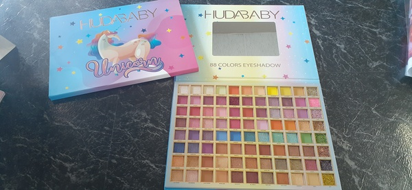Huda baby unicorn picture
