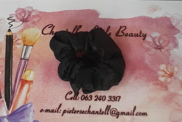 Black scrunchie picture