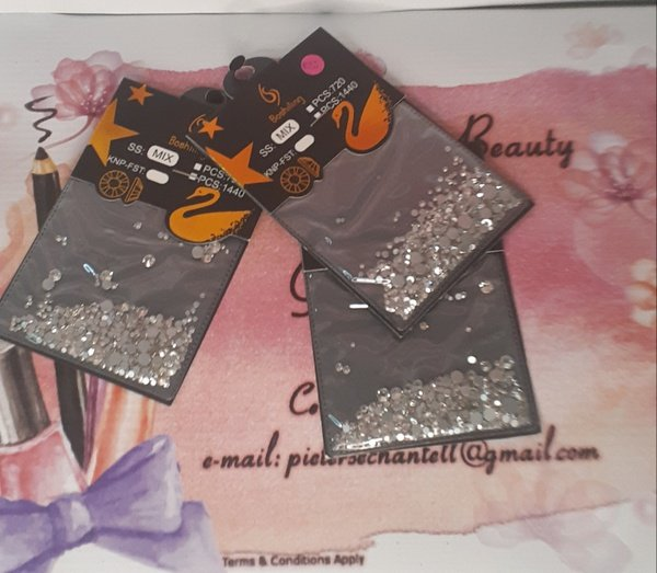 Crystal pouch picture