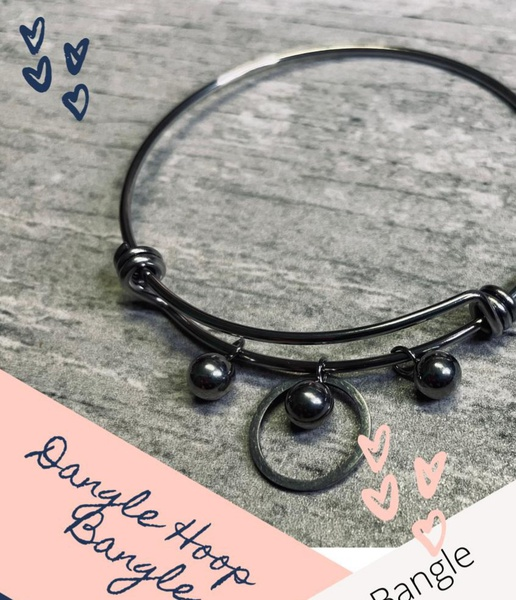 Dangle hoop bangle picture
