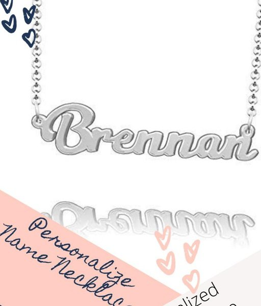 Personalized name necklace picture