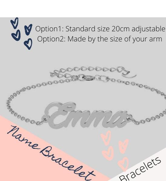 Name bracelet picture