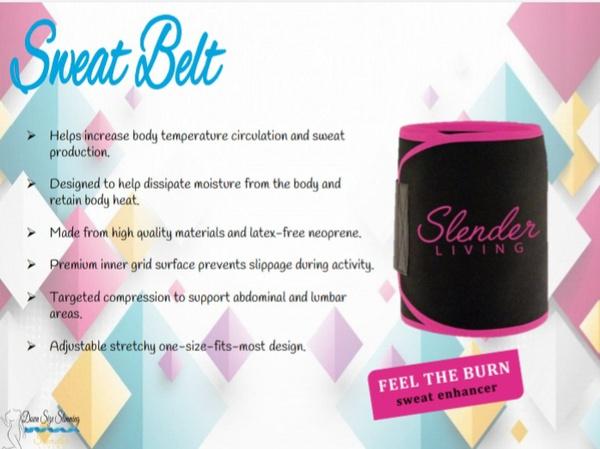 Slender living sweat belt picture