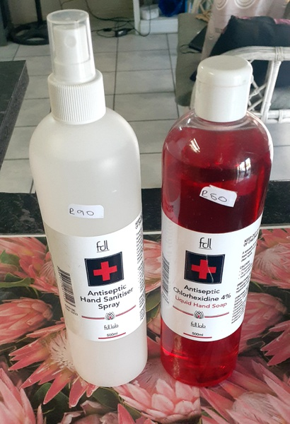 Sani spray and hand wash 500ml picture