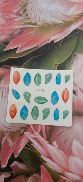 Water decal jel 23 picture