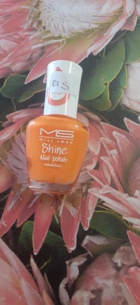 Ms shine cutex orange picture