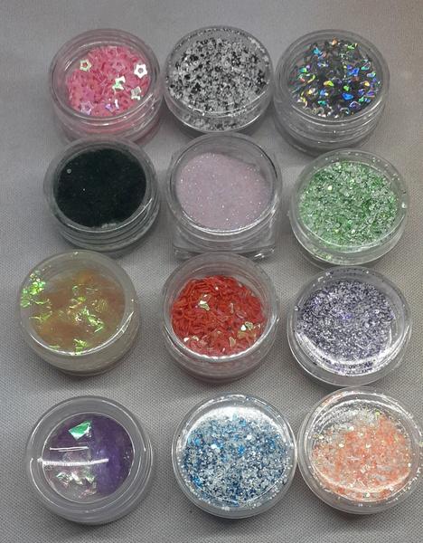 12pc beauty sky glitter no 1 picture