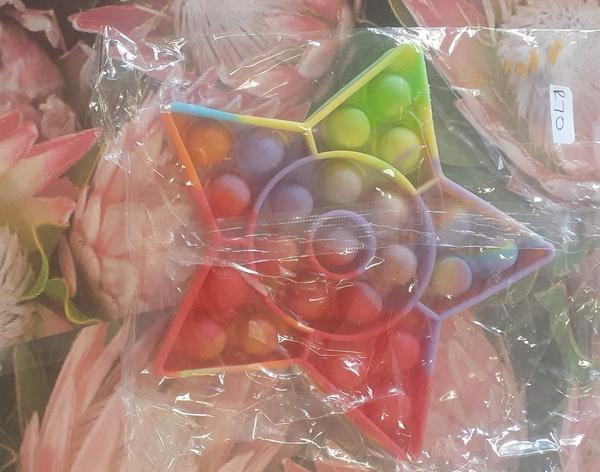 Fidget poppet star rainbow picture