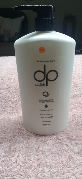 1l daily perfection salt free shampoo cotton milk & wheat protection picture