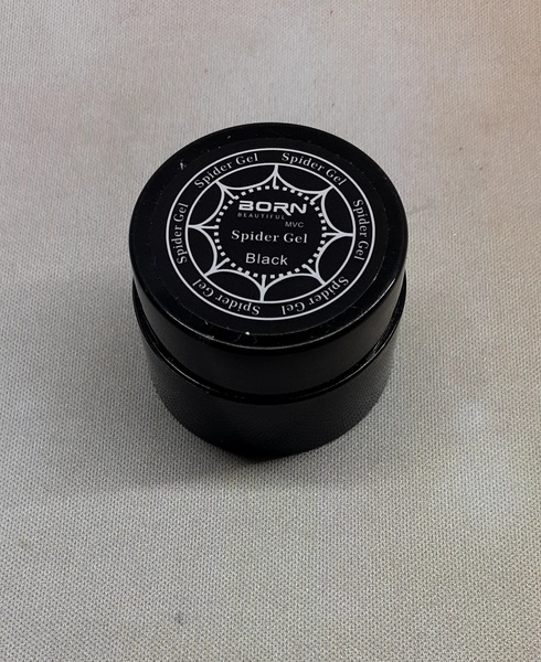 Spider gel black picture