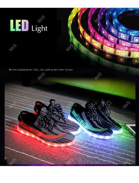 Led rechargable tekkies size 12 picture