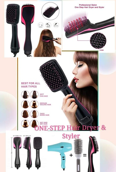 One step dryer and styler picture