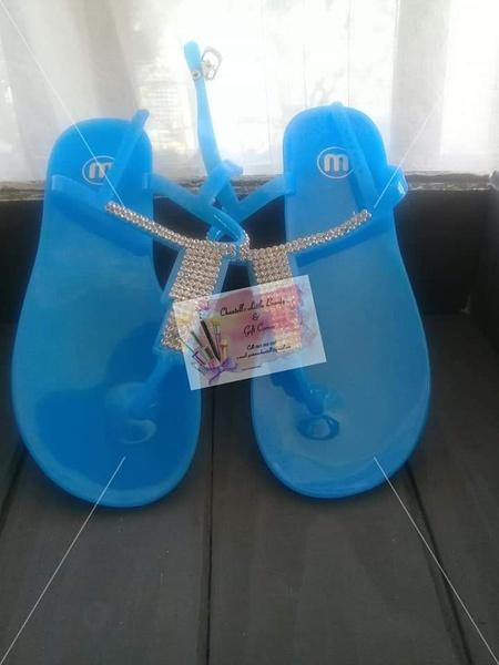 Sandals blue size 41 picture